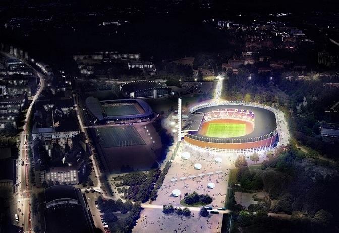 Havainnekuva Olympiastadion