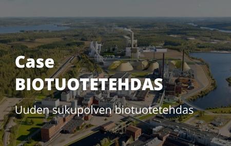 Case Biotuotetehdas: Kokemuksia Buildercomin projektipankista