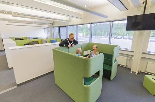 Buildercom toimitilat Mattilanniemessä