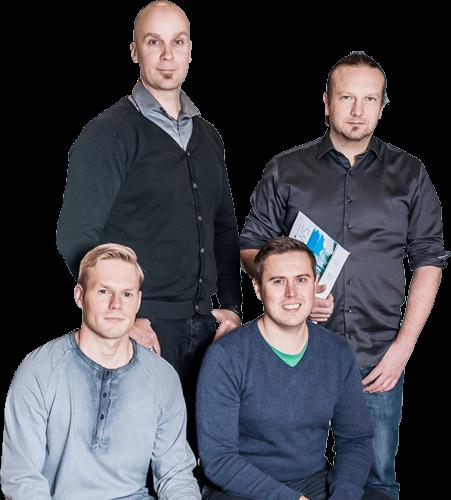 Buildercomin asiakaspalvelun asiantuntijat