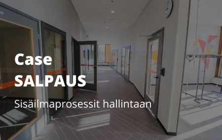 Case Salpaus: Sisäilmaprosessit hallintaan