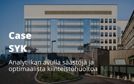 Case Suomen Yliopistokiinteistöt: Analytiikan avulla säästöjä ja optimaalista kiinteistöhuoltoa